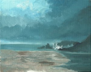 oil Painting - Approaching Storm -Phil Morin